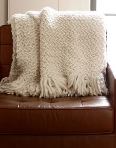 The big chill is finally here at WATG HQ and all we want to do is snuggle up under a big blanket. Luckily we have the skills - and the yarn! - to make it happen, and we want to share them with you....