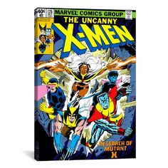 iCanvasART Marvel Comic Book XMen Cover Issue Cover No126 Canvas Art Print 18 by 12Inch *** Details can be found by clicking on the image.Note:It is affiliate link to Amazon.