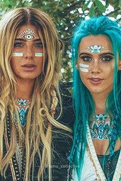 We can't get over these temp tattoos from @Rochelle_Fox and @djtigerlily!  Our favorite is blue lotus!