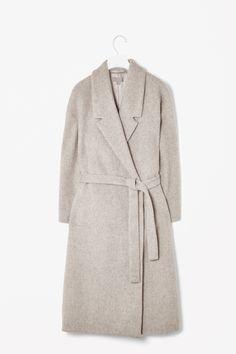 Wool mohair coat / COS