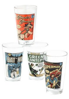Hero Till the End of the Pint Glasses, #ModCloth