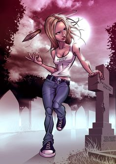 Buffy: On the prowl by PatrickBrown on deviantART