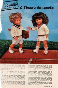 """""""A l'heure du tennis"""" Fiche N° 235 de août 1973 - http://augredutemps.canalblog.com/archives/2012/12/20/25970064.html"""