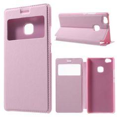 Köp Mobilfodral Window View Huawei P9 Lite rosa online: http://www.phonelife.se/mobilfodral-window-view-huawei-p9-lite-rosa