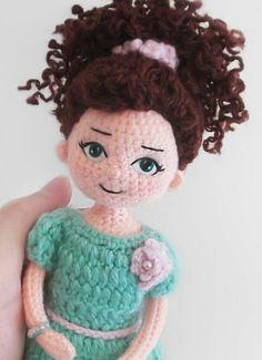 Crochet Doll Pattern, Knit Or Crochet, Crochet Dolls, Crochet Hats, Doll Patterns, Knitting Patterns, Crochet Patterns, Doll Making Tutorials, Doll Tutorial