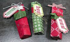 Christmas Quilt Treat Holders – Just Sponge It!