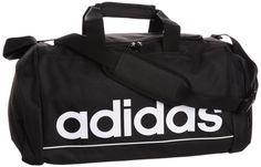 Adidas Linear ESS TBS Causal Sports Duffel Bag Color Black 100% Polyester Men's #Adidas #LinearESSTBSCausalSportsDuffelBag