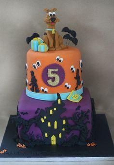Scooby Doo cake - Cake by ClaresCupcakesLondon