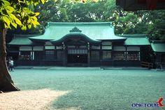 Atsuta Shrine in Nagoya, Japan - as reference for Namimori Shrine