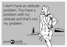 And That's Not My Problem