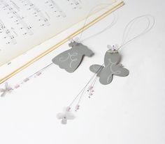 Μπομπονιέρες βάπτισης κρεμαστές φορεματάκι και πεταλούδα Event Planning, How To Plan