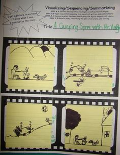 Love these graphic organizers to teach the reading strategies