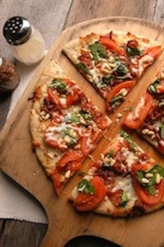 bacon spinach pizza recipe