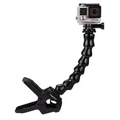 Captain Jaws Flex Clamp Mount with Adjustable Neck for Gopro Hero Sport Video Camera