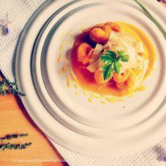 In Cucina con Mamma Agnese: Gnocchi alla zucca con crema di zucca !