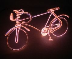Neon Toys. Neon Wire Bicycle