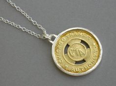 Chicago Transit Authority Necklace by amyjjewelry on Etsy