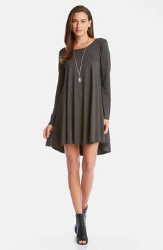 Karen Kane A-Line Swing Jersey Dress available at #Nordstrom