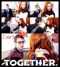 Amy and Rory Doctor Who Quotes | Amy and Rory - The girl who waited - quote by Beckie-Pond