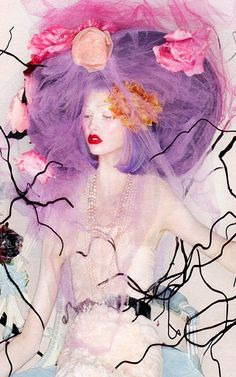 Nick Knight / W Magazine October 2012 (detail)