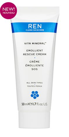 Vita Mineral™ Emollient Rescue Cream is a rich emollient cream, formulated to provide instant relief for moderate to intense dryness, dehydration, skin roughness and sensitivity while offering protection against environmental stress and aggression (UV, cold, wind, dryness, pollution). Skin feels rehydrated, restored, comforted and re-energized.