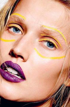 Toni Garrn  I-D Magazine Winter 2014 Photo: Richard Burbridge Makeup: Isamaya Ffrench