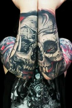 Skull tattoo, sick!!!!!!!!!!