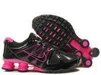 buy online 26f1a eed98 chaussures nike shox agent femme (noir rose) pas cher en ligne. Soulier