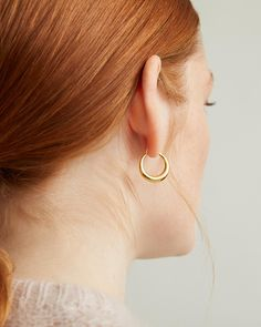 Their hinged closure locks in the centre and finds itself eating its way around. Their petite but bold and tapered form shapes the belly of a baby snake, which can become Hungry when it has not eaten. Snake Earrings, Hoop Earrings, Baby Snakes, Thoughtful Gifts, Perfume, Polish, Sterling Silver, Gold, Apothecary