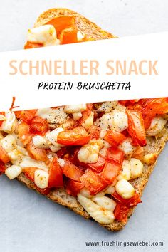 Healthy Eyes, High Protein Snacks, Bruschetta, Baby Led Weaning, Meal Prep, Lunch, Healthy Recipes, Meals, Vegan