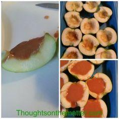 Caramel Apples – finger food style