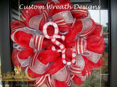 Deco Mesh Ohio State University by lilmaddydesigns on Etsy, $75.00