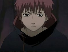 Sasori cute face (then again, when DOESN'T he have a cute face?)