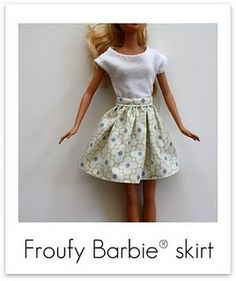 Wanted to try making some Barbie clothes this looks like a great tutorial to start with