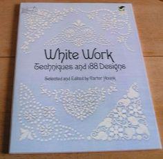 Handicraft Book 人気刺繍図案WhiteWorkホワイトワーク ハンドメイド インテリア 雑貨 Handmade ¥1380yen 〆05月19日