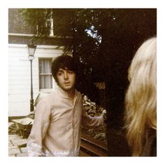 1967 PAUL Candid of Paul McCartney in 1967 at his house in London