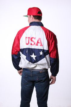 American Flag Budweiser Windbreaker Jacket | Get your USA gear and ...