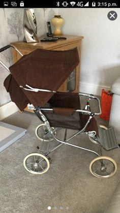 Vintage Pram, Vintage Dolls, Mothercare Prams, Prams And Pushchairs, Baby Prams, Baby Carriage, Baby Dolls, Baby Strollers, Nostalgia