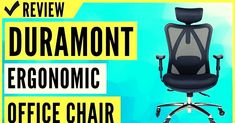 #duramont #ergonomic #adjustable #office #chair #Review #reviews #officefurniture #officechair #comfortablechair #chair Adjustable Office Chair, Ergonomic Office Chair, Furniture Market, Office Furniture, Work Productivity, Best Office Chair, Cool Chairs, Gaming Chair