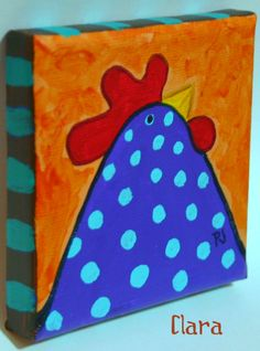 by PJ Hornberger.com: Chicken portrait