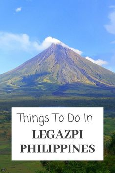 Going to Legazpi Philippines? With this travel guide on things to do in Legazpi Philippines, you will never be bored. Including Mount Mayon Volcano and adventure off the tourist trail. #travel #philippines #asia #Legazpi