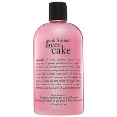 Philosophy Pink Frosted Layer Cake Shampoo/Shower « Holiday Adds