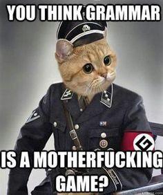Grammar Nazi Meme | Slapcaption.com