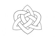 "Step Learn How to Draw a Celtic Heart Knot FREE Step-by-Step Online Drawing Tutorials, Tattoos, Pop Culture free step-by-step drawing tutorial will teach you in easy-to-draw-steps how to draw ""How to Draw a Celtic Heart Knot"" online. Celtic Sister Knot, Celtic Heart Knot, Celtic Knots, Celtic Quilt, Celtic Symbols, Celtic Art, Heart Tattoos Meaning, Form Drawing, Celtic Knot Designs"