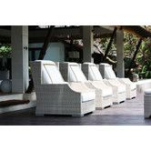 Found it at Wayfair - Hancock Deep Seating Chair with Cushions Outdoor Spaces, Outdoor Decor, Club Chairs, Sea Shells, Beach House, Outdoor Furniture Sets, Cushions, Deep, Home Decor