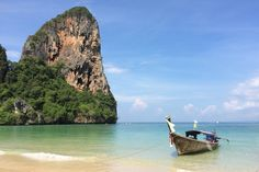 West Railay is by far the most picturesque beach