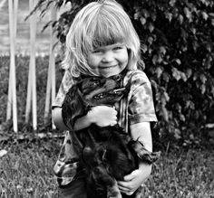 Remarkable Photos Of Kids And Their Pets | Impact Lab