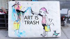 ART IS TRASH - SSSTENDHAL magazine