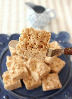 "A minha receita de ""Rice Crispy Treats"" <3 My recipe for ""Rice Crispy Treats"" <3"