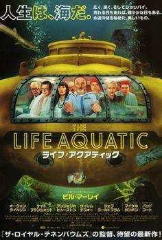 The Life Aquatic- Japan Poster